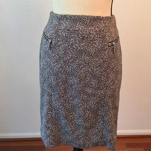 Michael kors black/white skirt